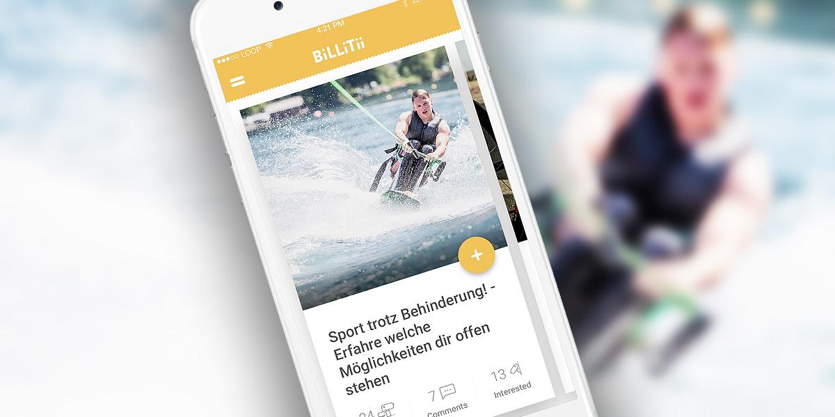 Sport trotz Behinderung! – beeinträchtigte Menschen vernetzensich